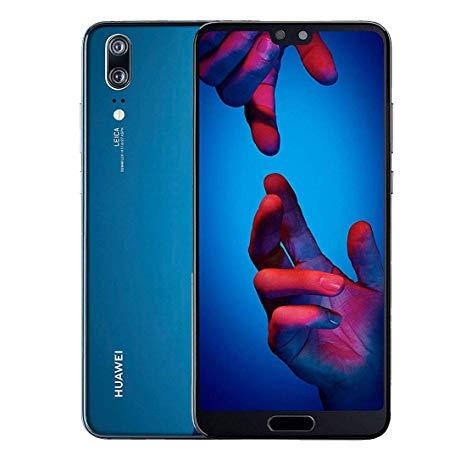 Huawei P20 128GB Blue Unlocked Single Sim Grade A - Marginal VAT