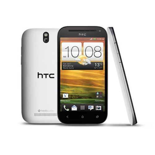 Poor Condition HTC One SV 8GB White Unlocked Smartphone - Minor Cracked Screen