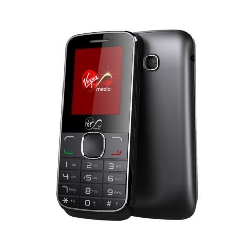 New Condition Boxed Alcatel VM575 Black Unlocked Simple Mobile Phone - Warranty
