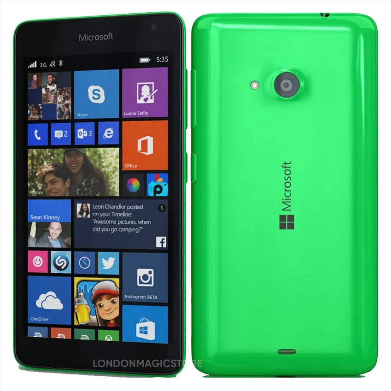New Condition Boxed Microsoft Lumia 535 Green