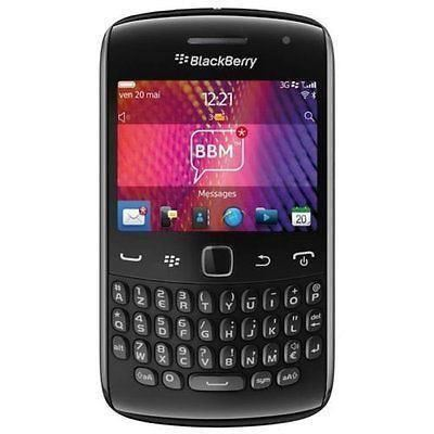 BlackBerry Curve 9360 Black Unlocked Smartphone - New Condition