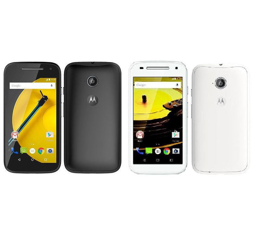 Motorola Moto E 2nd Gen XT1524 Black White 8GB Android Smartphone - Warranty