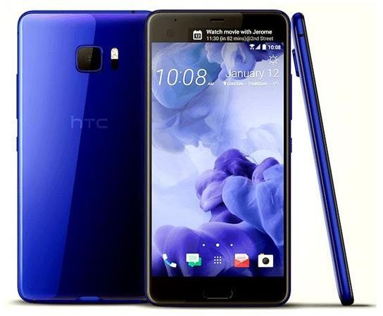 New Condition HTC U Ultra 64GB - Blue Unlocked Smartphone - 12 Month Warranty