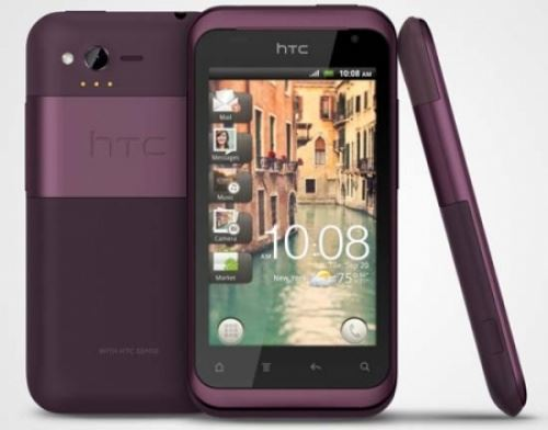 New Condition HTC Rhyme PI46100 4GB - Purple Unlocked Smartphone - Warranty