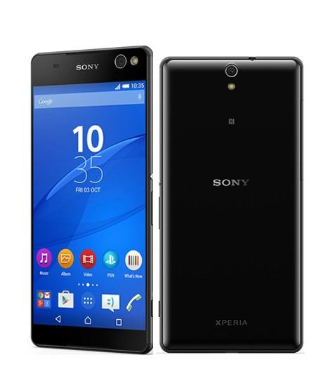 Good Condition Sony Xperia C5 Ultra Dual Sim 16GB Black E5533 Unlocked Smartphone