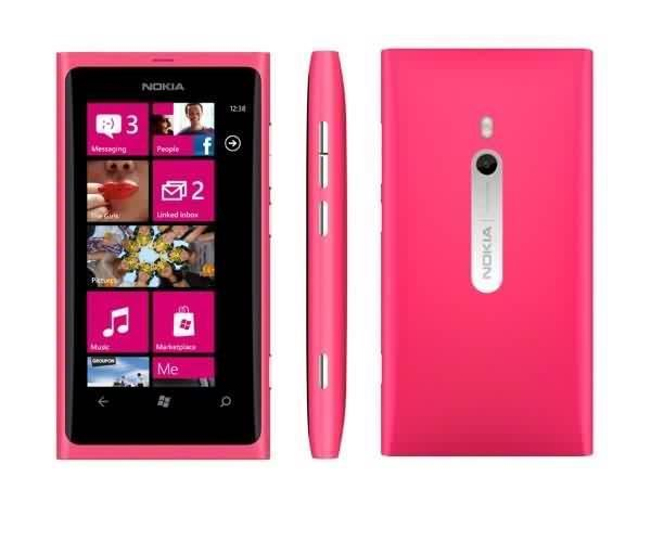 New Condition Brand New Nokia Lumia 800 Pink