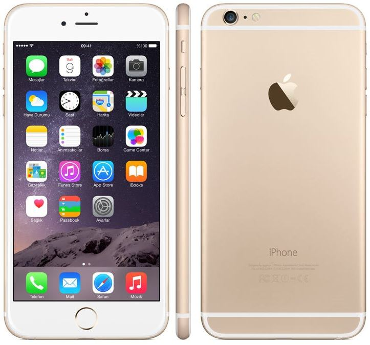 Apple iPhone 6 Plus 128GB Unlocked Gold Grade A+ - Marginal VAT