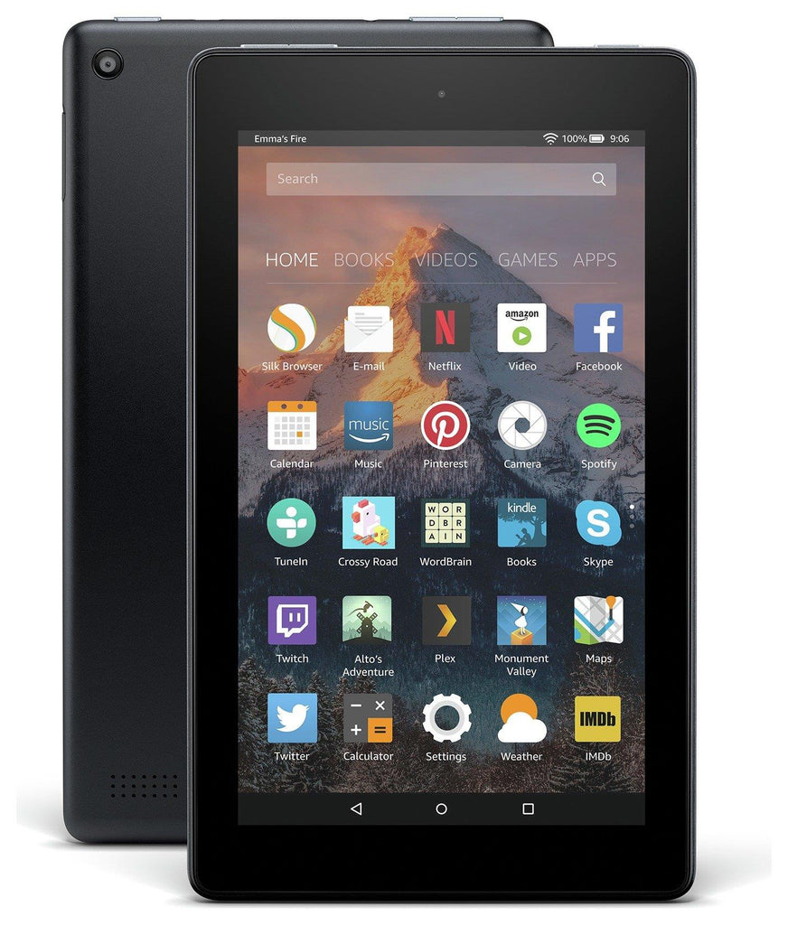 "Brand New Sealed Amazon Fire 7 Black 16GB 7"" Fire OS Tablet - Warranty"