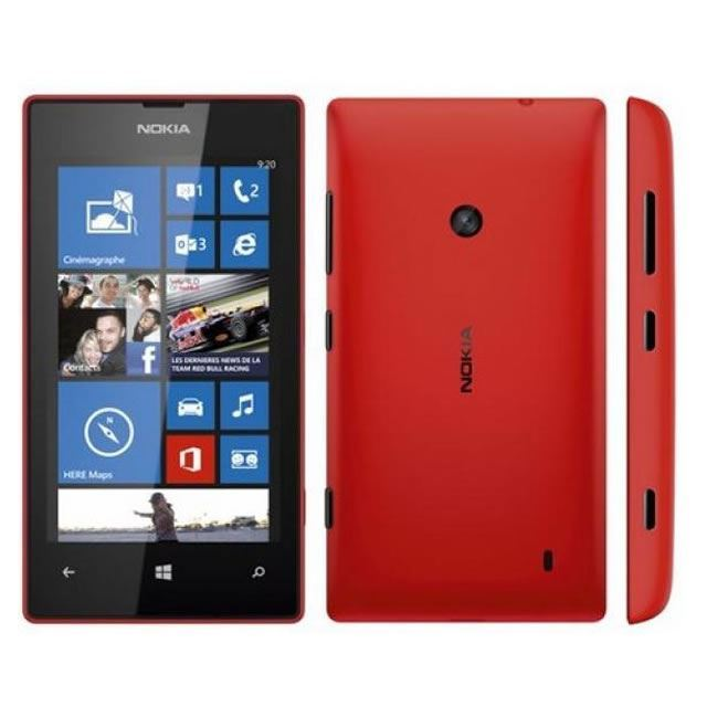 New Condition Nokia Lumia 520 8GB Red Unlocked Smartphone - 12M Warranty