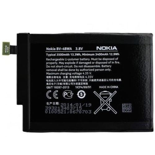 New Original Genuine Nokia Lumia 1320 Battery BV-T4BWA 3500mAh