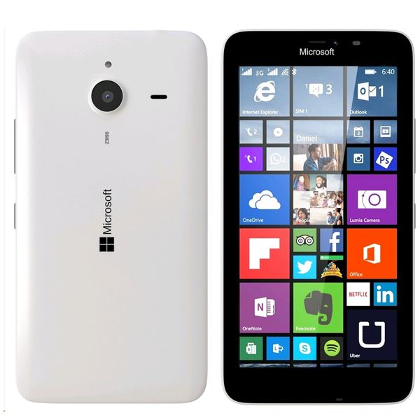 Microsoft Lumia 640XL White 8GB 4G Unlocked Smartphone New Condition Warranty