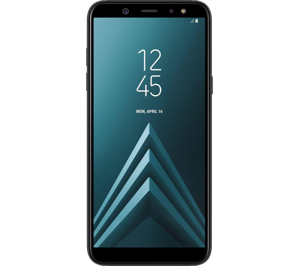 New Condition Boxed Samsung Galaxy A6 2018 SM-A600FN Black Unlocked Smartphone