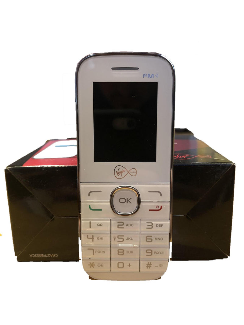 New Condition Boxed Alcatel VM585 1046G White Unlocked Simple Mobile Phone