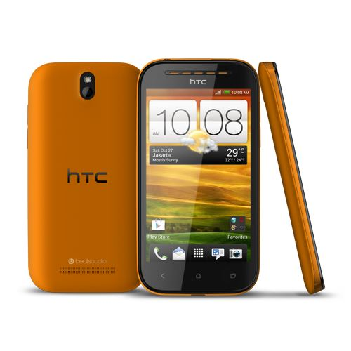 HTC Desire SV 8GB Unlocked Smartphone - Orange - Grade A - Warranty