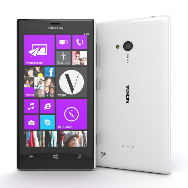 Nokia Lumia 720 8GB White Unlocked Smartphone - New Condition