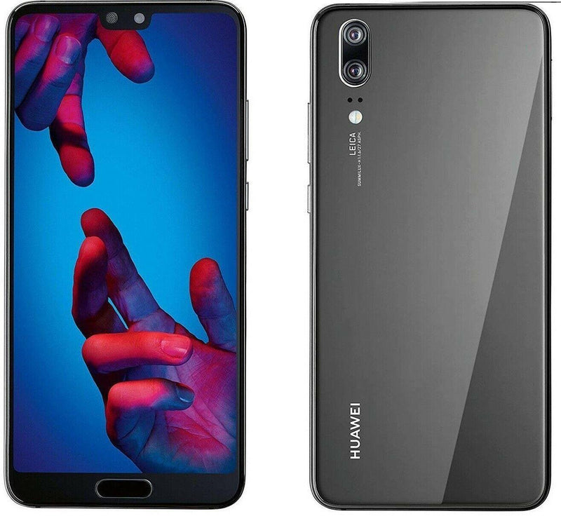 Huawei P20 128GB Black Unlocked Single Sim Grade B - Marginal VAT