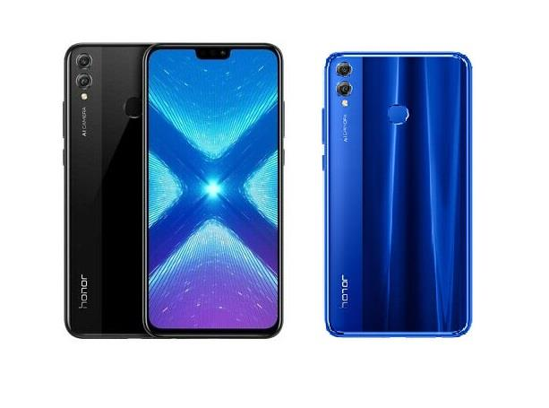 Huawei Honor 8x Black Blue 64GB 20MP Android 4GB RAM Smartphone - Warranty