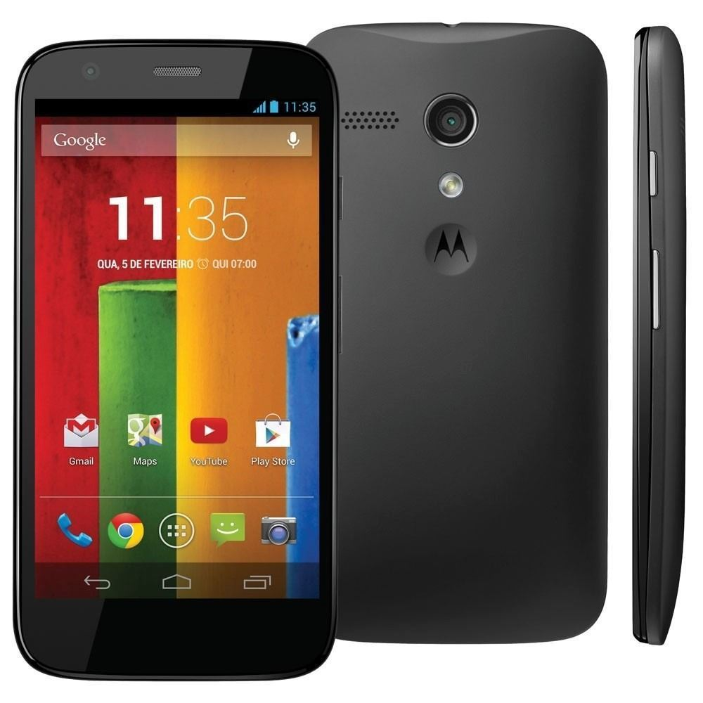Good Condition Motorola MOTO G XT1032 Black Vodafone Locked Smartphone
