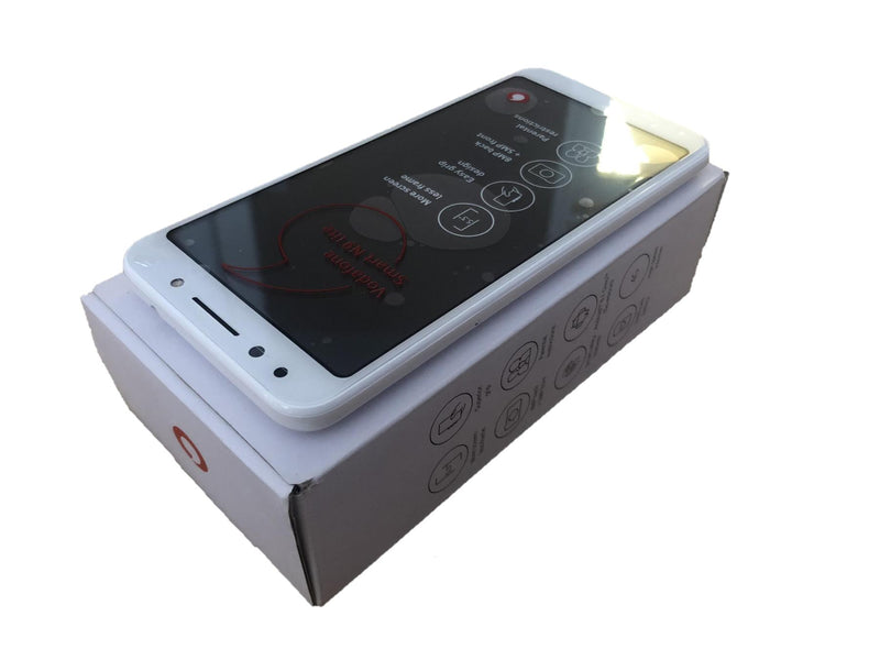 New Condition Boxed Vodafone Smart N9 Lite White Unlocked 16GB Smartphone