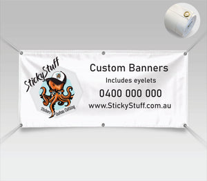 Custom Banners with Eyelets
