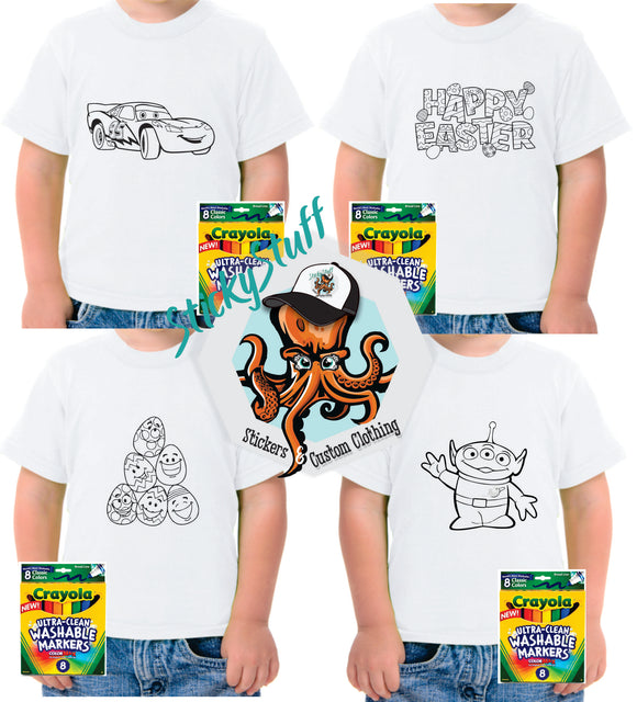 Colouring-in Shirts