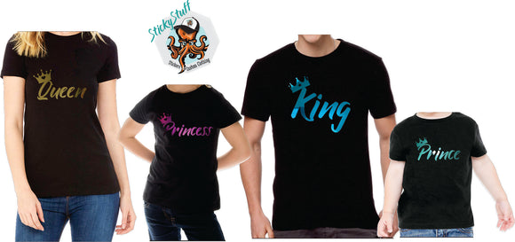 Family Royal-Tee Set