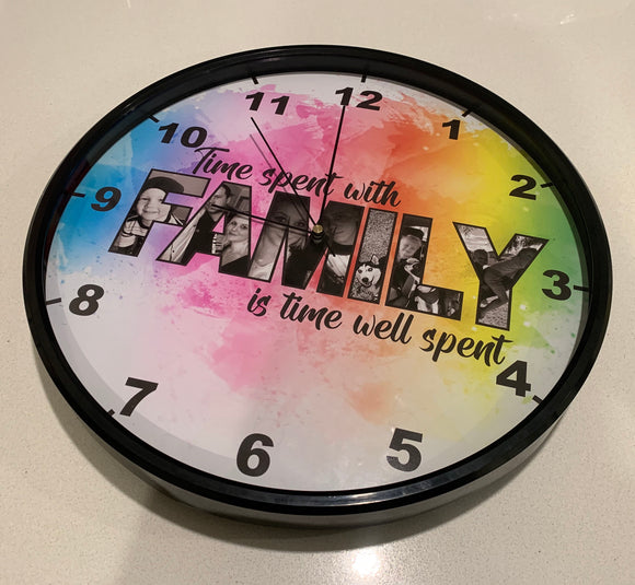 Personalised clock
