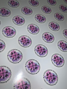 100 x 50mm stickers