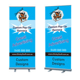 Advertising Pop Up Banner