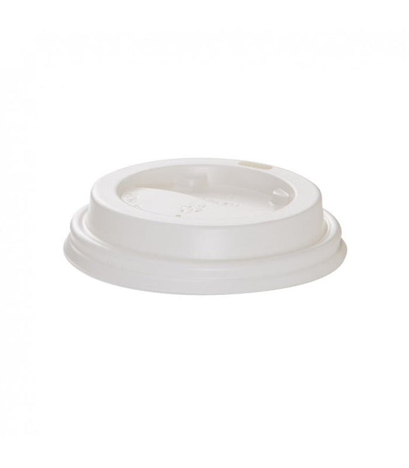 Lid 90mm White (PS) - JAG Distributors