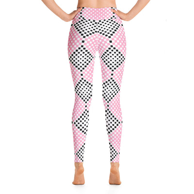 Pink & Black Leggings - vinita sharma collections