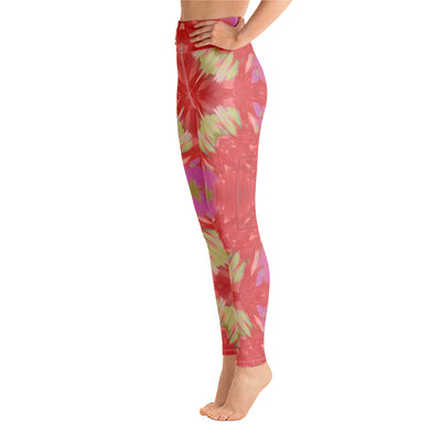 Abstract Petals Leggings - vinita sharma collections