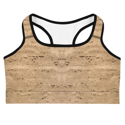 Tan Haze Sports Bra - vinita sharma collections