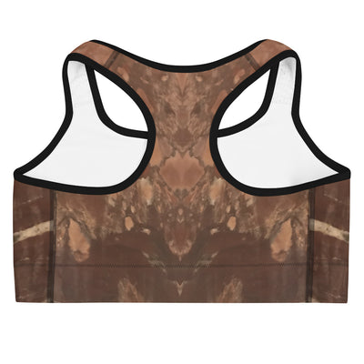 Shades of Brown Sports Bra - vinita sharma collections