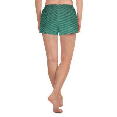 Lined Green Shorts - vinita sharma collections