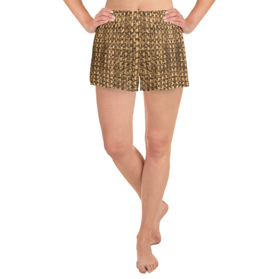Textured Brown Shorts - vinita sharma collections