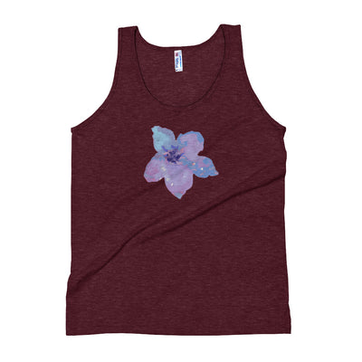 Blue Flower Tank Top - vinita sharma collections