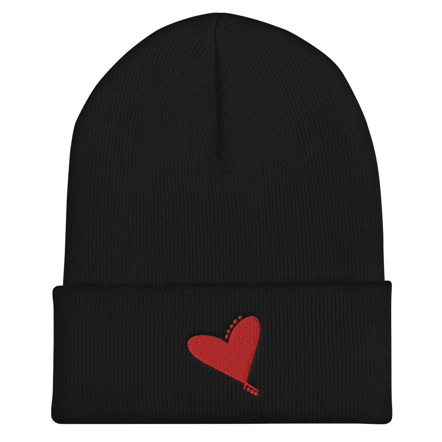Flying Heart Beanie - vinita sharma collections