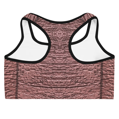 Rough Pink Sports Bra - vinita sharma collections