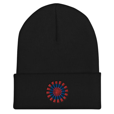 Colorful Snowflake Beanie - vinita sharma collections