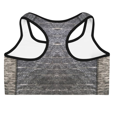 Grey Focus Sports Bra - vinita sharma collections