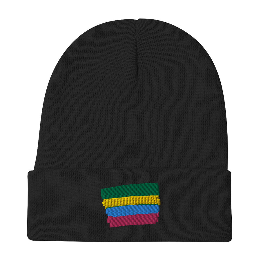 Colorful Stripes Beanie - vinita sharma collections