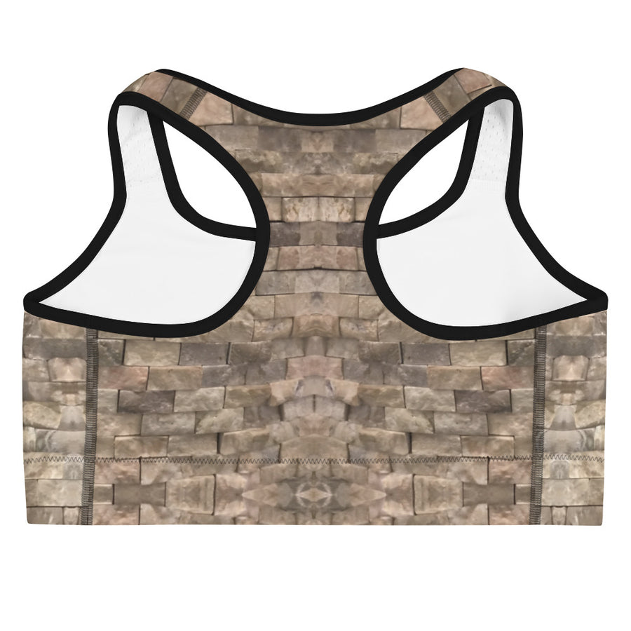 Block Patterns Sports Bra - vinita sharma collections