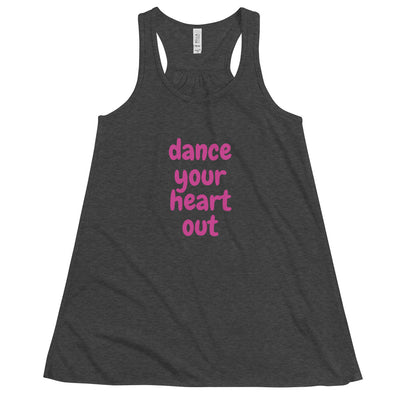 Dance Your Heart Out Tank - vinita sharma collections