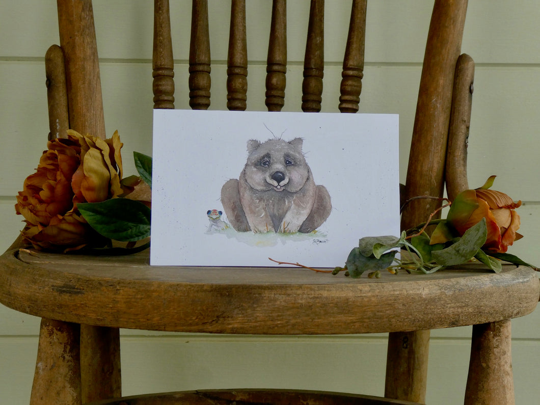Matilda Greeting Card