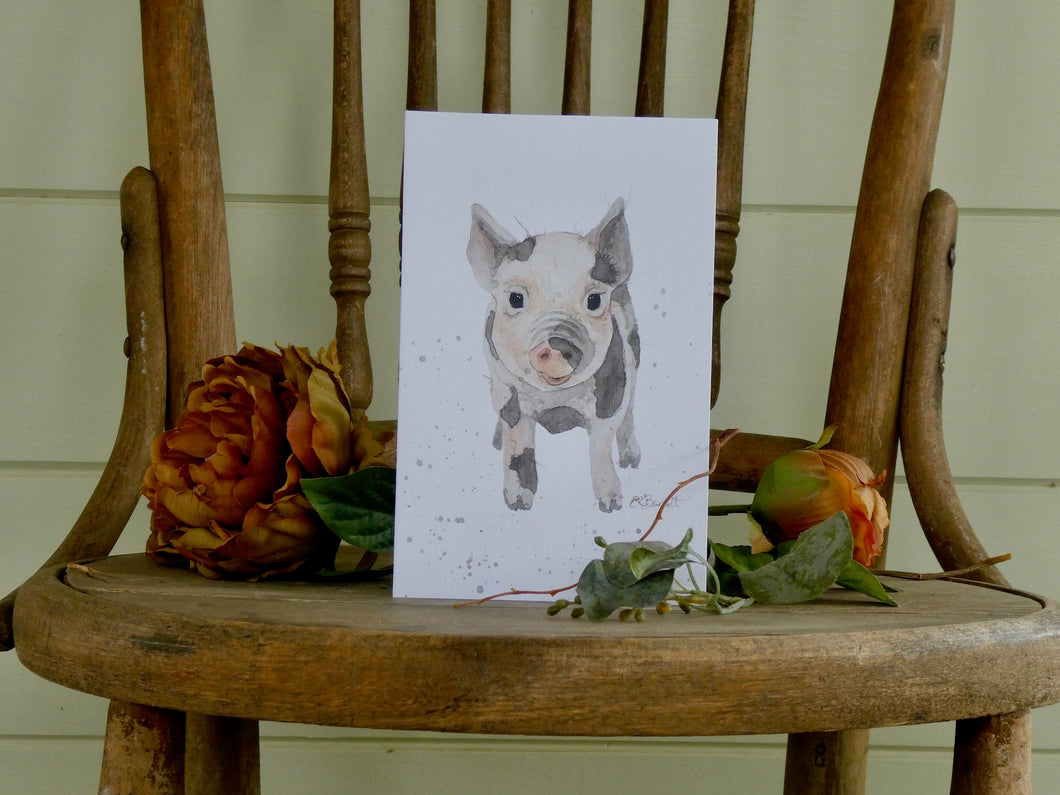 Wilbur Greeting Card