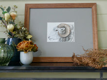 Load image into Gallery viewer, Ram watercolour painting