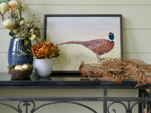 Pheasant Oil Painting