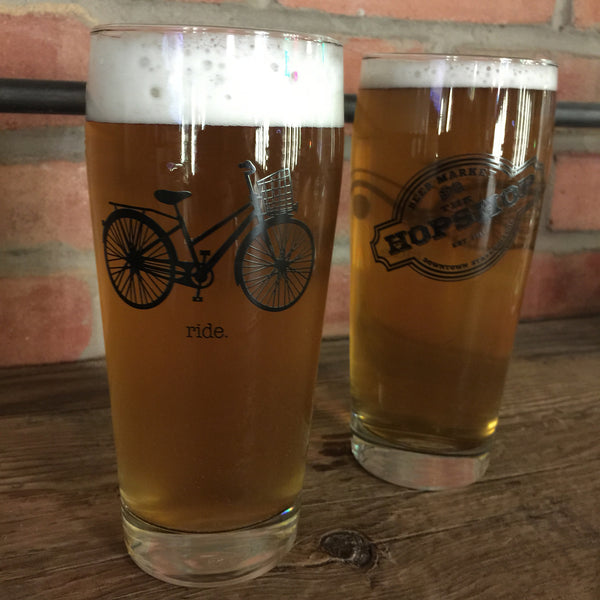 The Hopshop Ride Glass