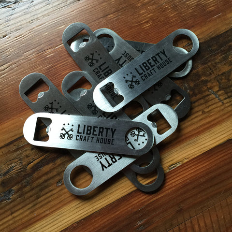 Liberty Craft House Stainless Steel Mini Bottle Opener